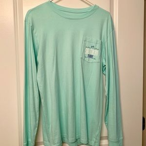 Southern Tide Long Sleeve Pocket T-Shirt